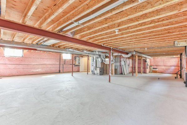 audrey unfinished basement
