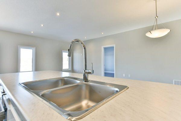Audrey sink in kitchen